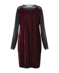 Tom Rebl Purple Short Dress