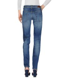 Just Cavalli Blue Denim Pants