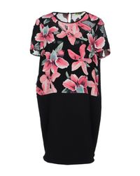 Versace Jeans Black Short Dress