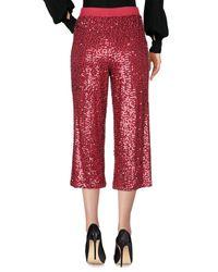 Pantalon P.A.R.O.S.H. en coloris Red