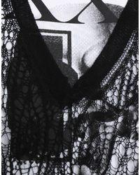 McQ Alexander McQueen Black Langes Kleid