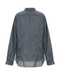 Camisa Massimo Alba de color Gray