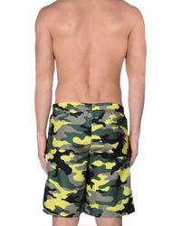 Replay Yellow Swim Trunks for men