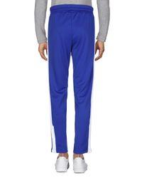 Pantalone di Palm Angels in Blue da Uomo