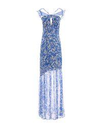 Robe longue Marciano en coloris Blue