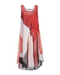 Crea Concept Red Knee-length Dress
