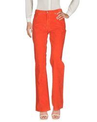 Trussardi Red Casual Trouser