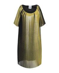 Robe courte Jijil en coloris Yellow