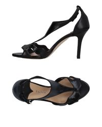 The Seller Black Sandals