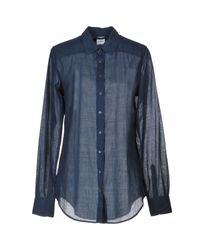 Camisa Aspesi de color Blue