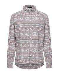 Camicia di Rvlt in Gray da Uomo