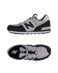 New Balance Gray Low-tops & Sneakers