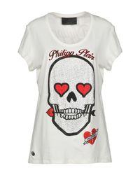 Philipp Plein White T-shirt