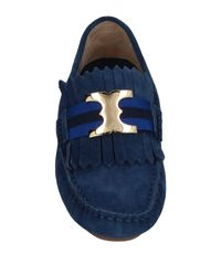 Tory Burch Blue Loafer