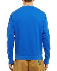 Felpa di Loewe in Blue da Uomo