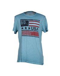 U.S. POLO ASSN. Blue T-shirt for men