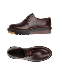 Camper Brown Lace-up Shoe