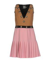 Fausto Puglisi Pink Short Dress