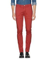 Pantalone di Yan Simmon in Red da Uomo