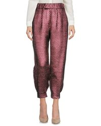 Ultrachic Red Casual Trouser