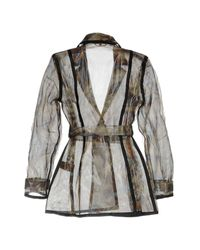 Iris Van Herpen Multicolor Overcoat