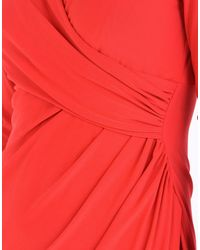 Lauren by Ralph Lauren Red Knee-length Dress