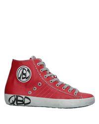 Quattrobarradodici Red High-tops & Sneakers