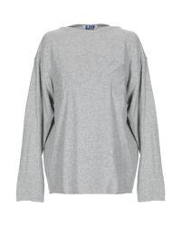 SJYP Gray Sweatshirt