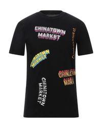 Chinatown Market T-shirts in Black für Herren