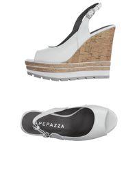 Apepazza White Sandals