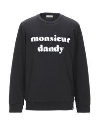 Sweat-shirt SELECTED pour homme en coloris Black