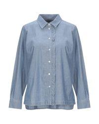 Weekend by Maxmara Blue Denim Shirt