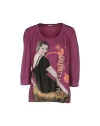John Galliano | Purple T-shirt | Lyst