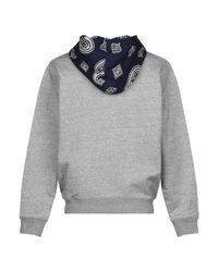 Sweat-shirt Lacoste pour homme en coloris Gray