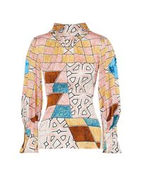 Peter Pilotto Pink Bluse