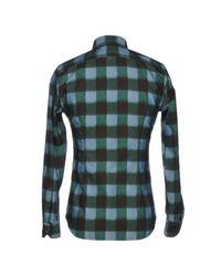Xacus Green Shirt for men