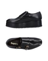 Raparo Black Loafer