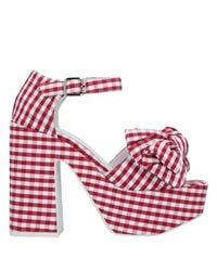 Jeffrey Campbell Red Sandals