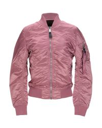 Cazadora Alpha Industries de color Pink
