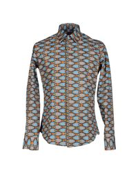 Stella Jean - Brown Shirt for Men - Lyst