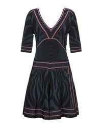 Robe courte Roberto Cavalli en coloris Black