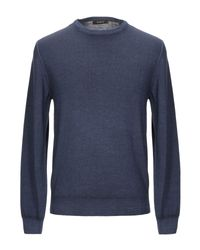 Browns Blue Sweater for men