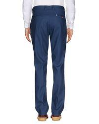 Fendi Blue Casual Pants for men