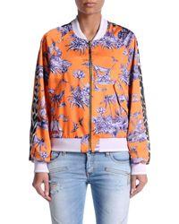 Just Cavalli Orange Jacket