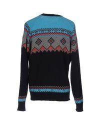 Department 5 Blue Sweater for men