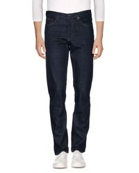 Michael Kors - Blue Denim Trousers for Men - Lyst