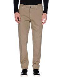 Incotex Natural Casual Pants for men