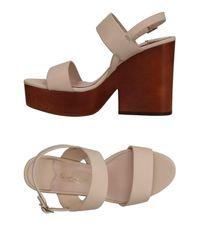 The Seller Natural Sandals