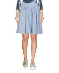 Marc By Marc Jacobs Blue Denim Skirt