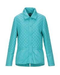 Giorgio Grati Blue Synthetic Down Jacket